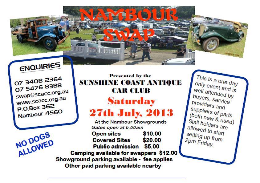 nambour swap meet 2012
