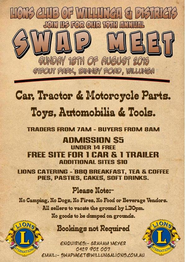 Willunga Swap Meet SA 2013