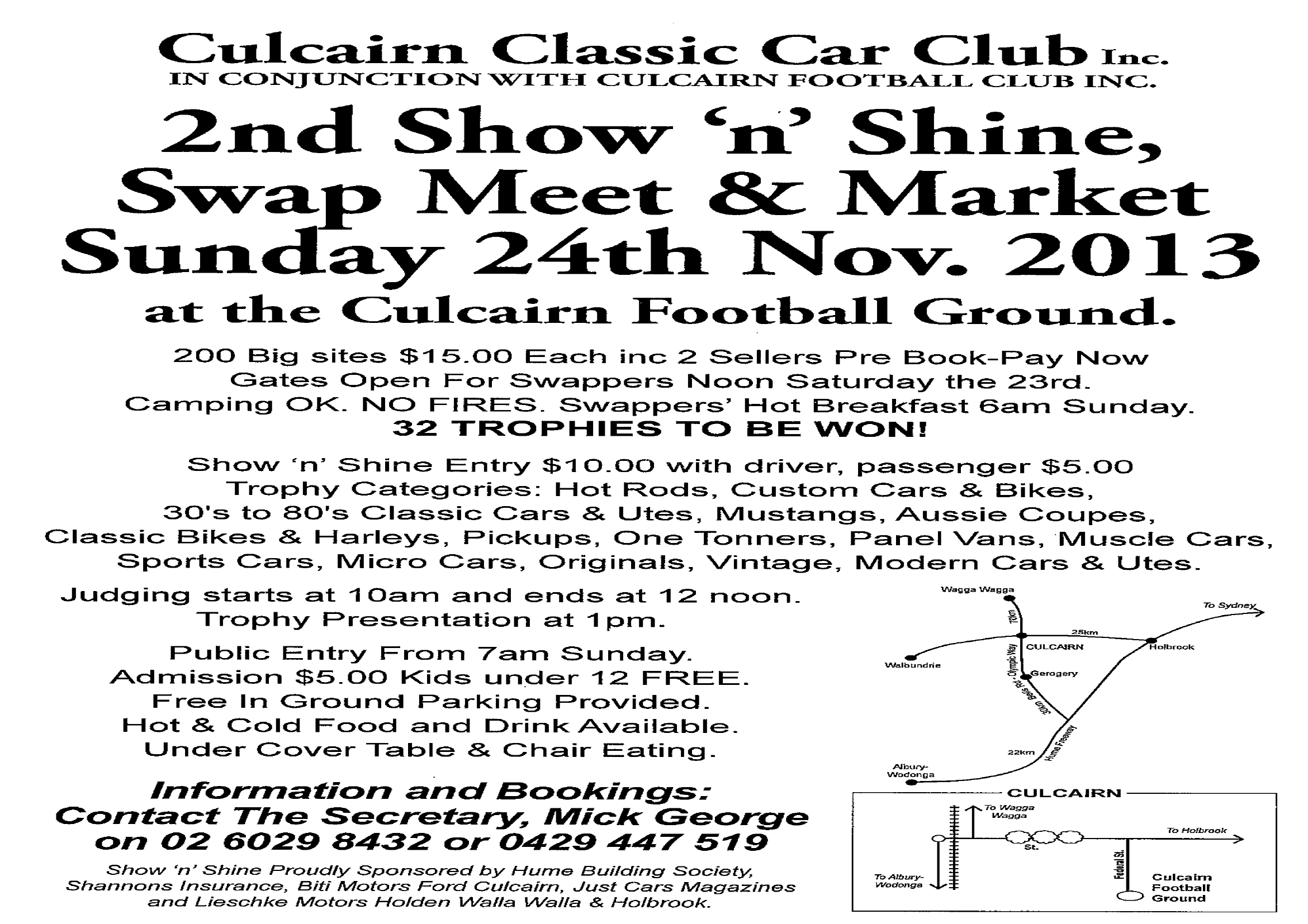 Culcairn Australia  city photo : Culcairn Swap Meet NSW | Australian Swap Meets | ozswaps.com.au