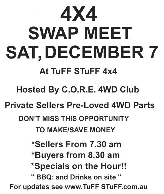 4X4 Swap Meet SA 2013