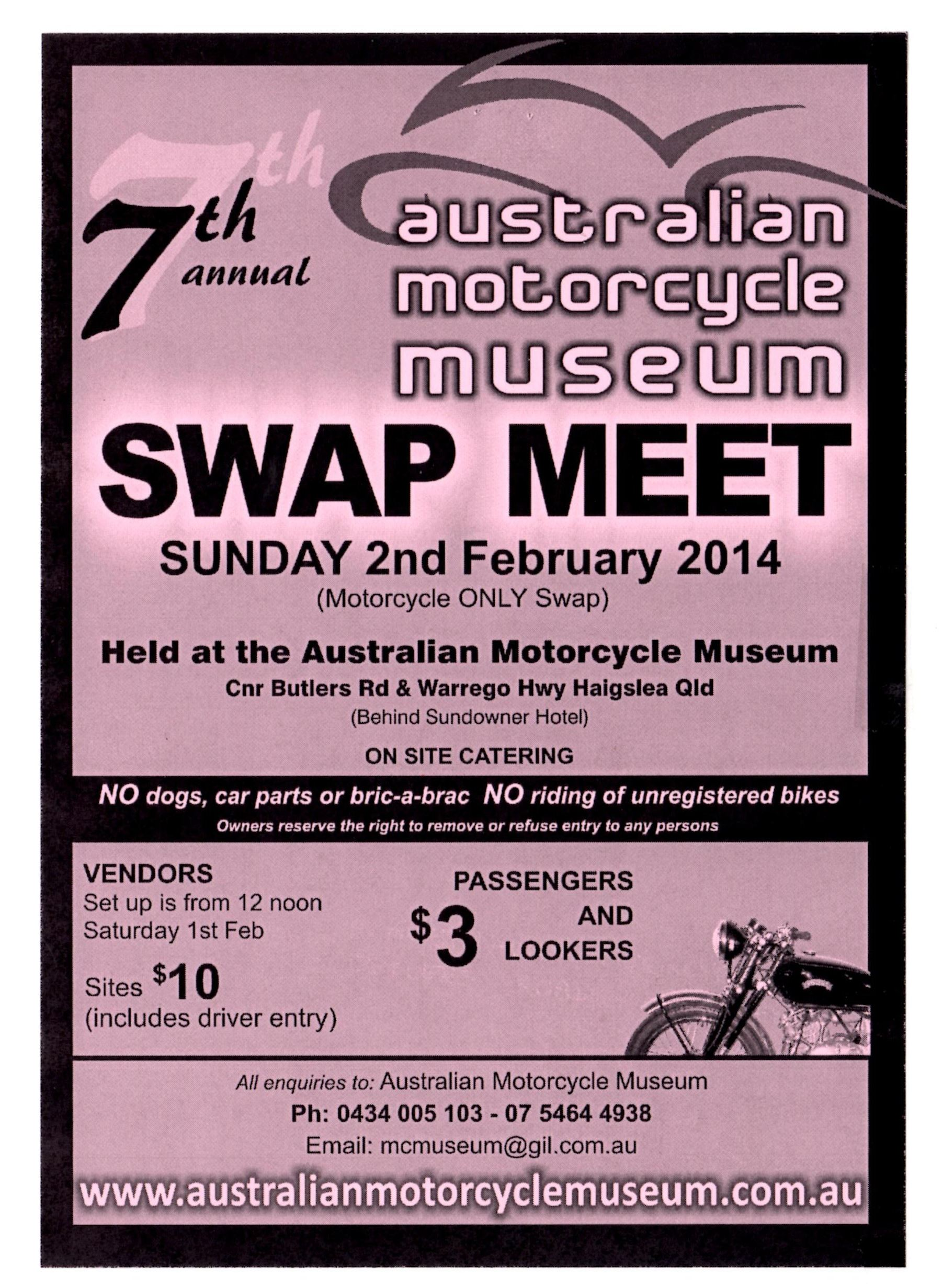 haigslea swap meet 2014