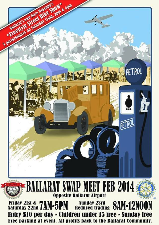 Ballarat Swap Meet VIC 2014