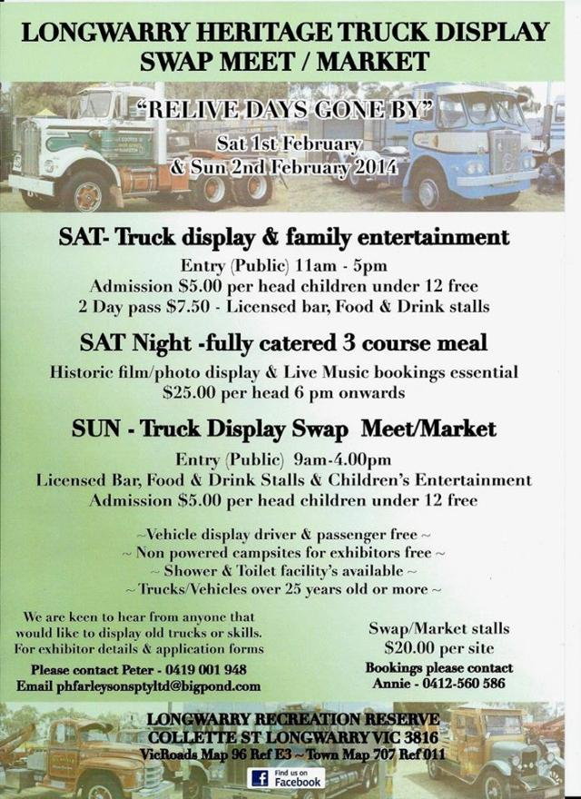 Longwarry Swap Meet VIC 2014